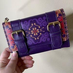 Loungefly Aladdin's Magic Carpet Wallet Clutch